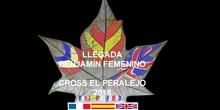 CROSS EL PERALEJO LLEGADA BENJAMÍN FEMENINO