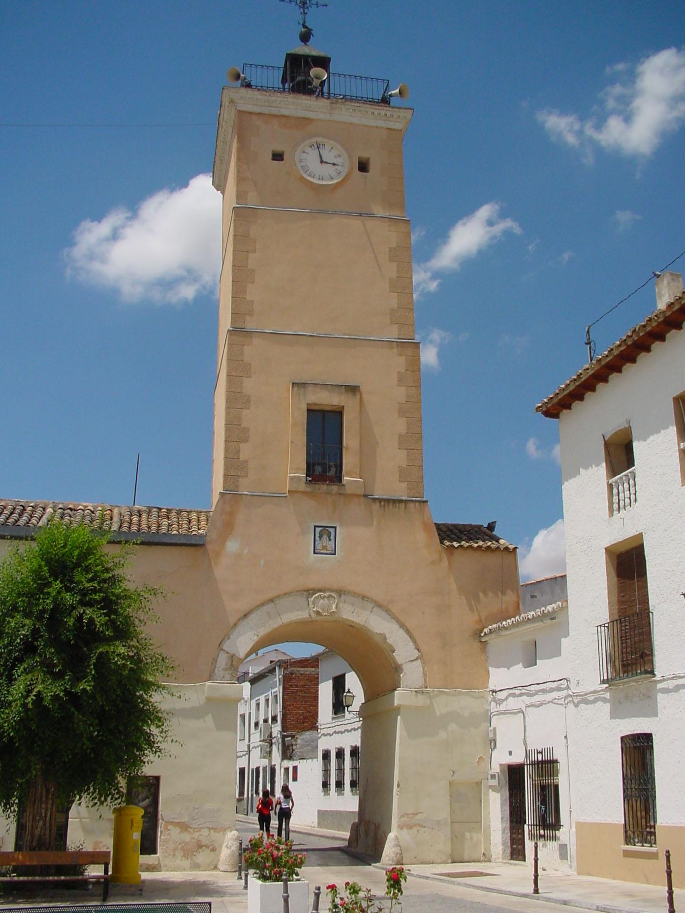 Torre del Reloj de Fuentidueña del Tajo