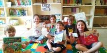 LOS DE 5 AÑOS GRANDES LECTORES DE NUESTRA BIBLIOTECA 3