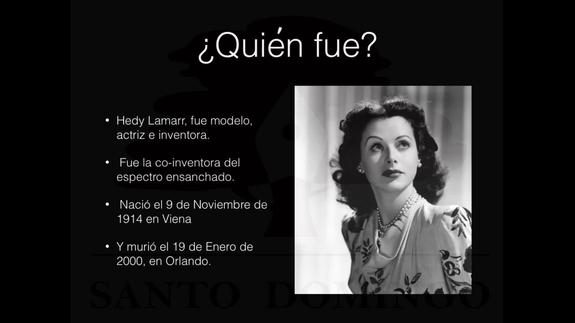 Mujeres Para La Historia Hedy Lamarr Mediateca De