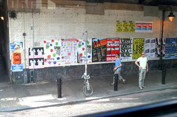 Carteles de propaganda, Londres, Reino Unido