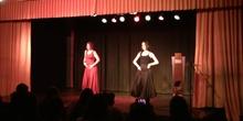 Recepción Erasmus+ Encuentro en España - Baile de Lucía y Rocío