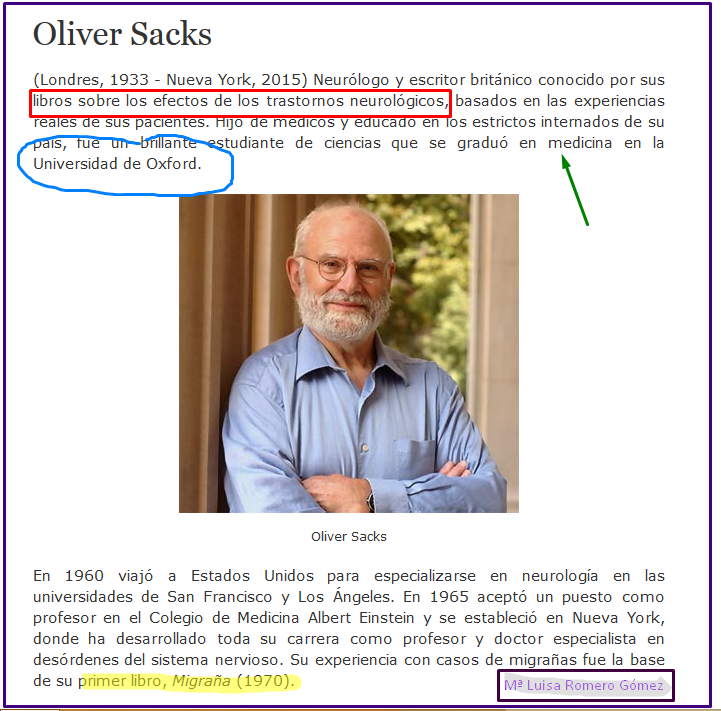 Oliver Sacks, el explorador de la mente