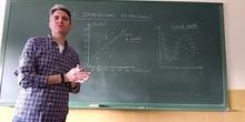 Distribuciones bidimensionales. Nube de puntos. Correlación