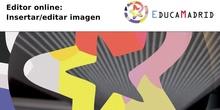 Editor online: Insertar/editar imagen
