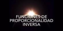 Funciones de Proporcionalidad Inversa - Joaquín