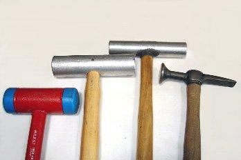 Martillos y mazas para aluminio II