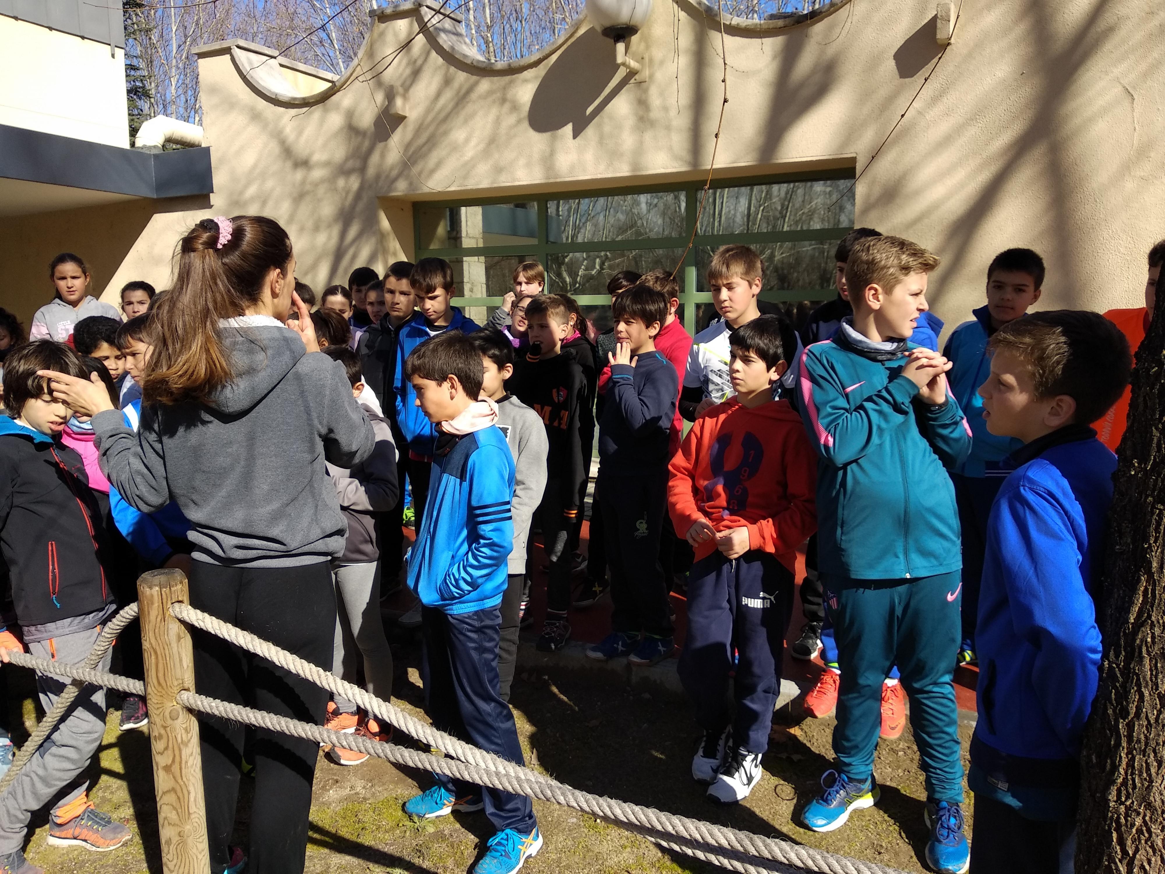 Multideporte en la ciudad deportiva Puerta de Hierro 16