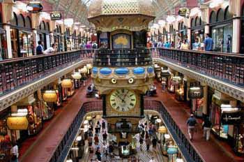 Sydney: centro comercial Reina Victoria, Australia