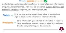 PRIMARIA 4º - LENGUA CASTELLANA Y LITERATURA - LA ORACIÓN