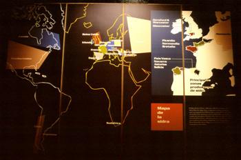 Mapa de la sidra en el mundo, Museo de la Sidra de Asturias, Nav