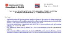 Protocolo covid19 Ceip Alhambra