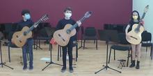Audición de Guitarra: alumnos de 2º y 4º EE. EE.Parte I (27/05/2021)