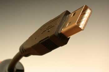 Conector macho USB