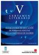 Revista del V Certamen Literario Intercentros de Educación de Personas Adultas. Año 2011