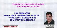 Instalar cliente owncloud en win10