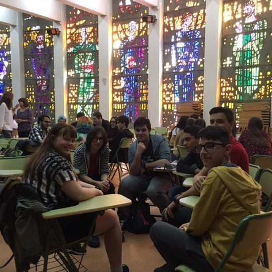 Visita al instituto de alumnos del instituto de secundaria 'Gimnasium Kalundborg' de Dinamarca 1