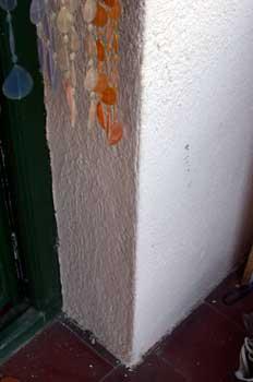 Esquina de una pared
