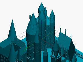 Escuela 3D Hogwarts