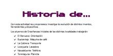 Historia de...