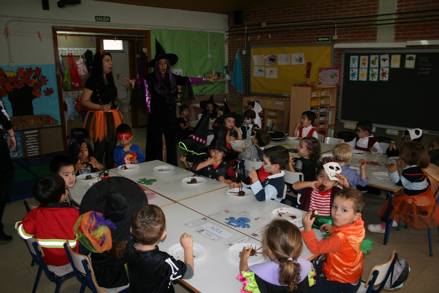 2016_10_Infantil, Primero y Segundo de Primaria_Celebrando Halloween 3
