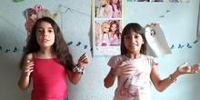 Andrea 3º y Beatriz 5º