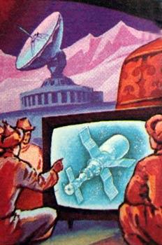 Personas viendo la televisión