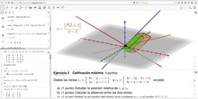 ¿Cómo hacer un ejercicio de geometría EvAU con Geogebra? (3/4)