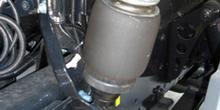 Vehículos industriales. Suspensión neumática de cabina