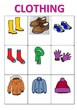 CLOTHES VOCABULARY GAME 2