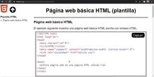 HTML Página básica