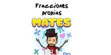 4º Matemáticas Fracciones propias.