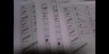 Inventario y vocabulario WeDo - Grupo 1