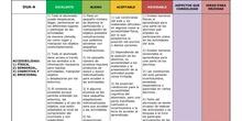 Rúbrica DUA-A para docentes