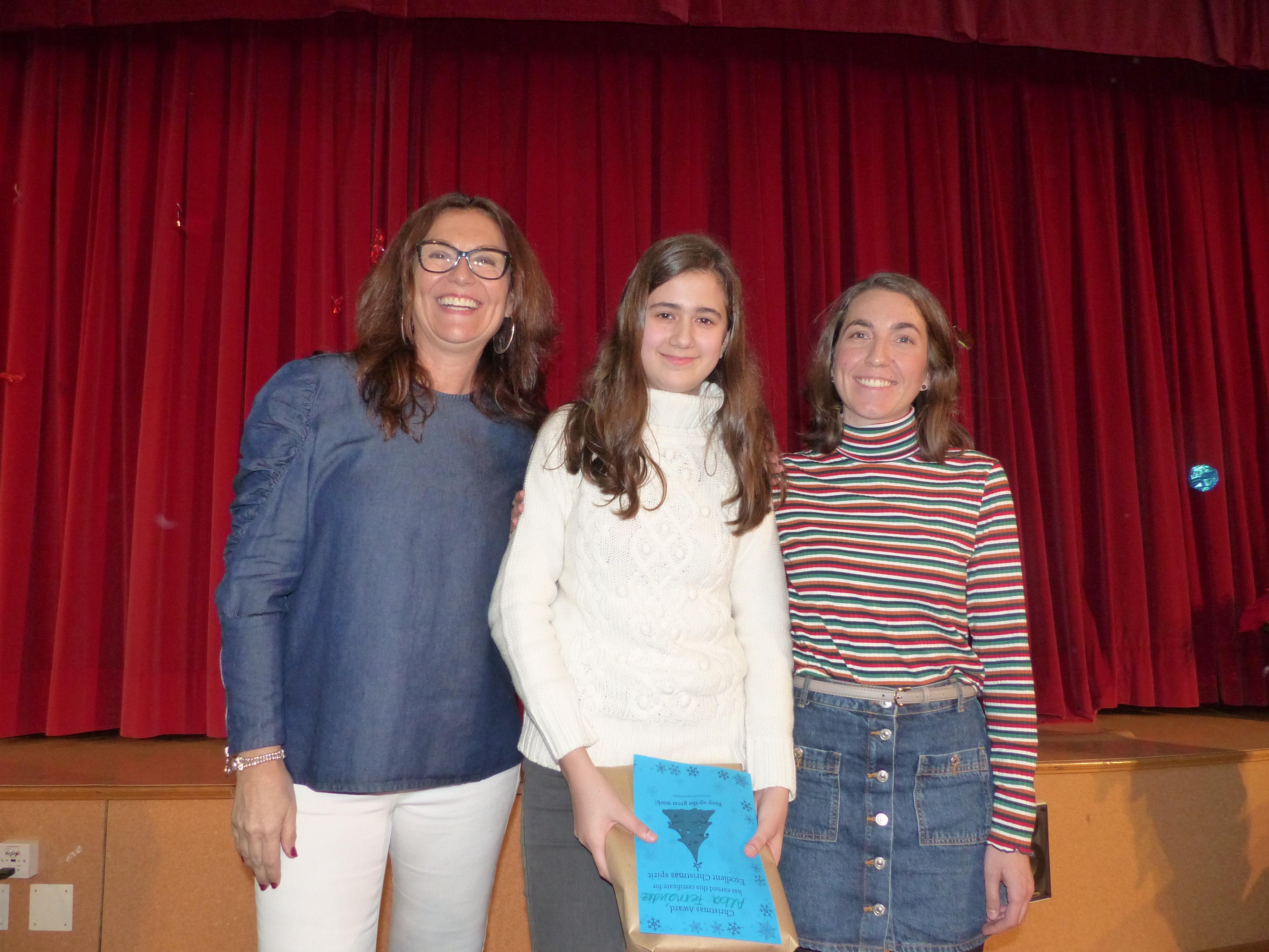 "Premios concurso ""Christmas"" Inglés 6"