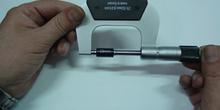 Micrometro. Calibración.