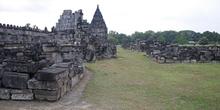 Ruinas del templo Perwara, Prambanan, Jogyakarta, Indonesia