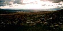 Vista desde la ladera del volcan Ruapehu en el Parque nacional d