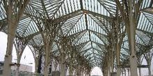 Estación ferroviaria de Oriente, Lisboa, Portugal
