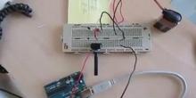 DC motor & Arduino Board
