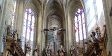 Retablo y cúpula, Catedral de Astorga, León, Castilla y León