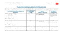 TABLAS SEMANALES 1-5 JUNIO