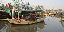 Barcos pesqueros, Jakarta