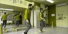 """Calentamiento baile: """"la vida es un carnaval"""""""