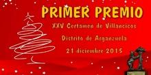 Certamen de Villlancicos de Arganzuela 2015 - PRIMER PREMIO -