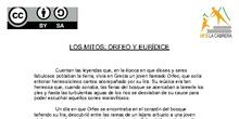 El mito de Orfeo y Eurídice, actividad multidisciplinar para el ámbito sociolingüístico de 1º ESO