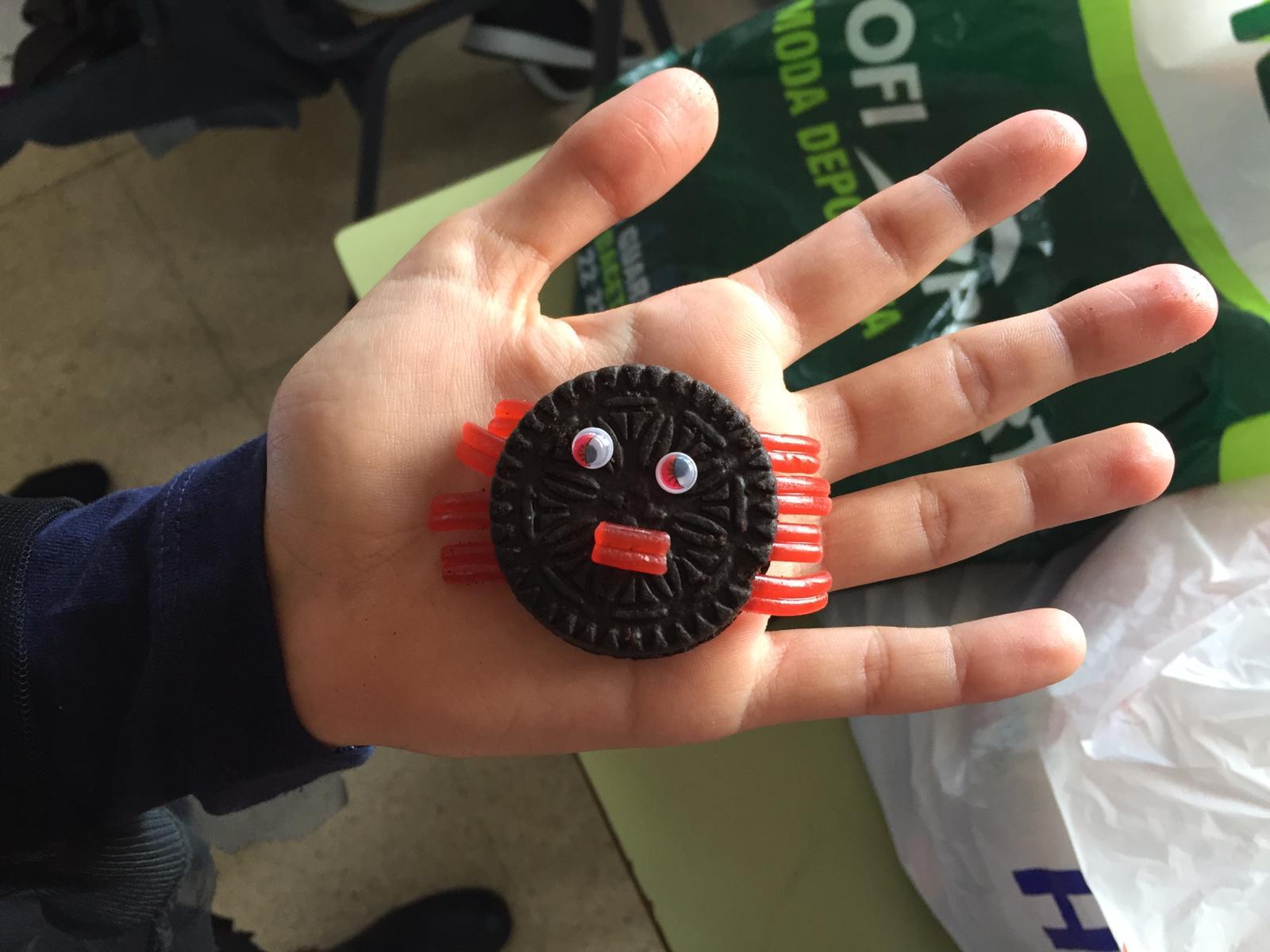 2018_20_30_Sexto realiza chuches por Halloween...CEIP FDLR_Las Rozas