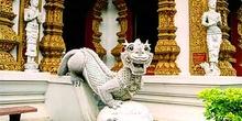 Dragón rampante, Tailandia