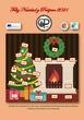Tarjeta de Navidad Peralejo 2020 21