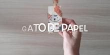 INFANTIL - 4 AÑOS - GATO CON PAPEL - FORMACIÓN